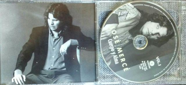 Jose Mercé. Cuerpo y alma. Doble CD recopilatorio