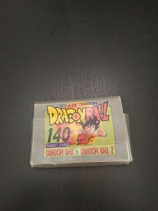 Caja Dragon ball coleciones este 140