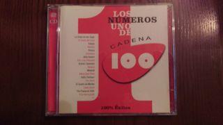 LOS NÚMEROS 1 DE CADENA 100