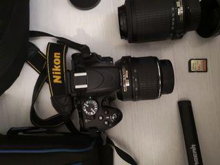 Nikon D5100 más Kit Completo fotografía