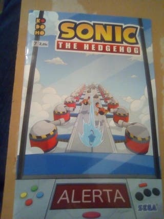 sonic the Hedgehog numero 7 español