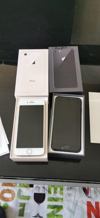 iPhone 8 64Gb dorado o negro libre