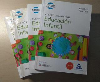 Libro oposiciones educación infantil Mad