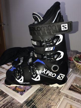 Botas de esqui salomon xpro 80