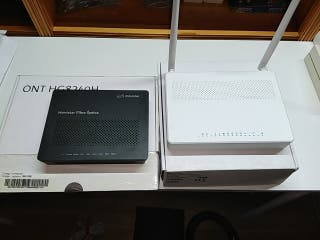 ONT Huawei + Router NuCom