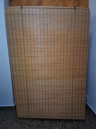 Persiana estor enrrollable bambú