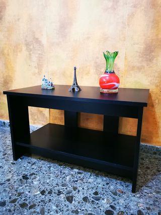 Mesa auxiliar TV madera