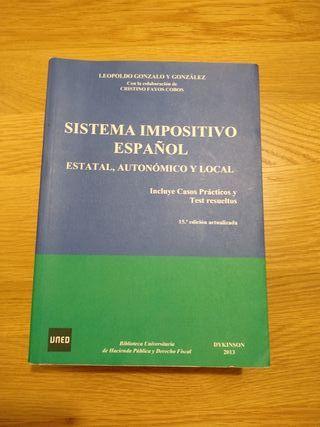 Libro Sistema Impositivo Español.Uned&Universidad.