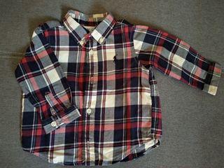 Camisa Ralph Lauren talla 6 meses