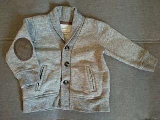 Chaqueta gris H&M talla 6-9 meses