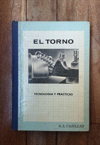 Libro El Torno: Tecnolgía y prácticas 1959
