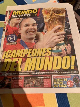 Periódico Mundo Deportivo
