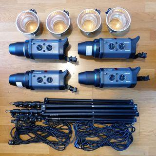 Flash Bowens Esprit Gemini GM500 4 uds (precio/ud)