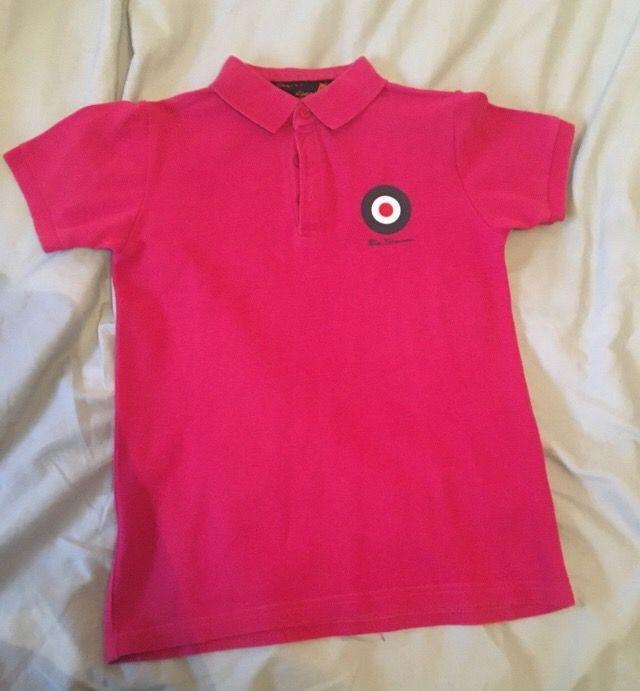 Boys Ben Sherman shirt 7-8
