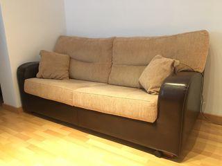 Sofa cama de 2 plazas y media - convertible