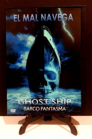 GHOST SHIP BARCO FANTASMA DVD