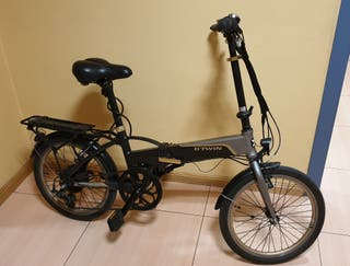 Bicicleta eléctrica b twin