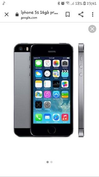 iphone 5 s 16gb nuevo