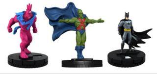 Lote de Heroclix de 3 figuras de edición limitada