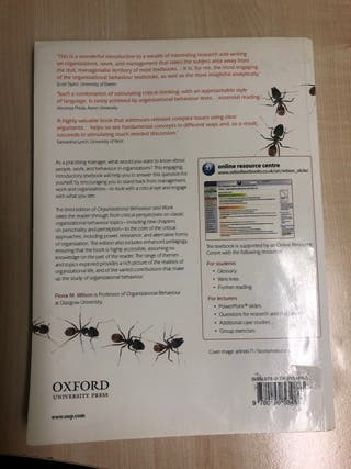 BOOK: Organizational behavior and work