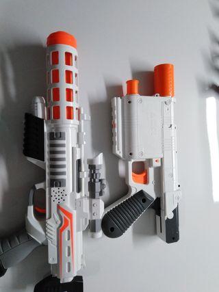 pistolas estar wars en perfecto estado