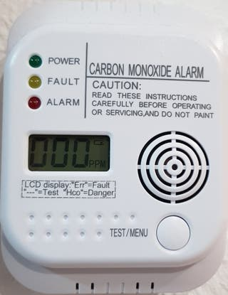 Detector monóxido de carbono CO2