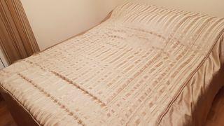 Colcha cama 1.35 confeccionada en tienda