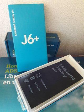caja vacía Samsung J6+