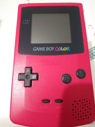 GAME BOY COLOR ROJO