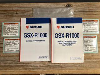 Manual Suzuki Gsxr