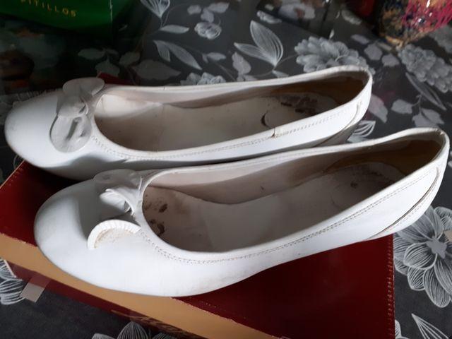 zapato tacon bajo 41
