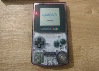 GAME BOY COLOR TRANSPARENTE MORADO