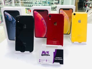 iPhone XR 64GB libre semi nuevo garantía