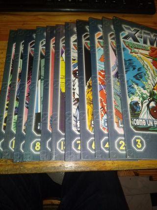 LOTE 11 COMICS X-MEN PATRULLA X.