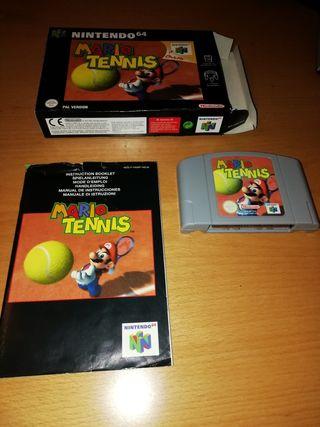 Juego Mario Tennis Nintendo 64