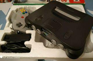 Nintendo 64 + 26 Juegos Completos + 3 Mandos + ext