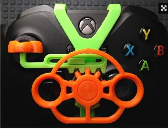 mini volante para mando PS4 y PS3...