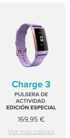 Reloj Fitbit Charge 3