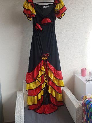 Disfraz traje flamenca adulto 2@mano