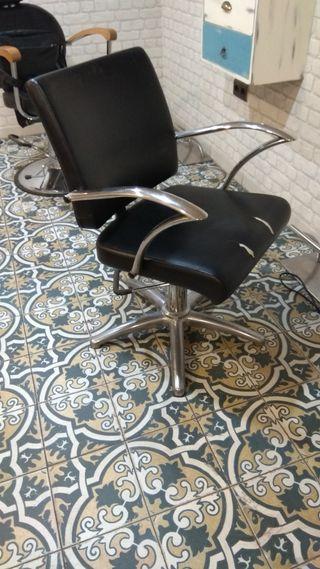 Sillón maquillaje + sillón tocador.