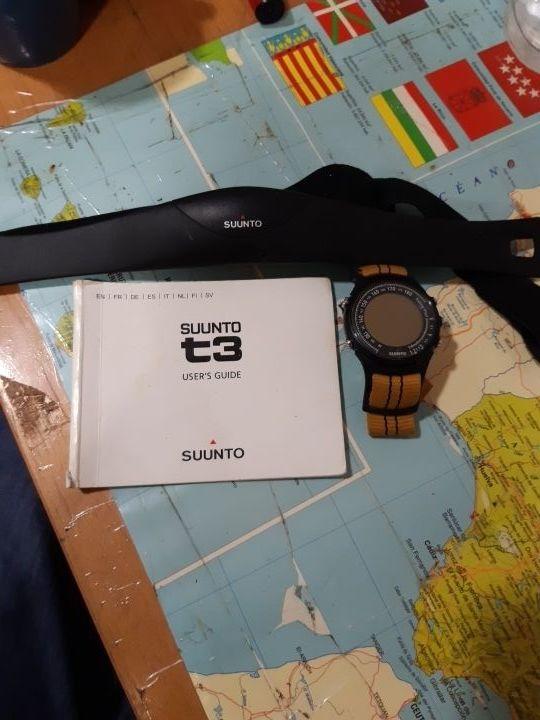 Training reloj. Suunto t3