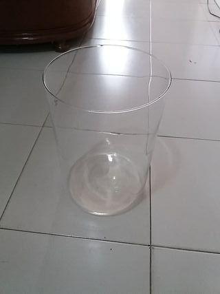 Jarrón cristal grande