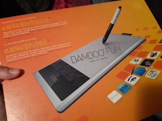 Tableta diseño BAMBOO FUN
