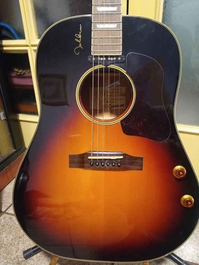 Guitarra electroacústica Epiphone EJ-160E John Len