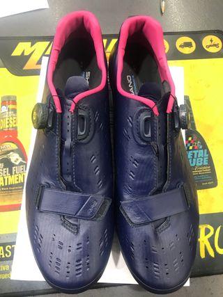 Zapatillas ciclismo shimano 47 carbono rp901