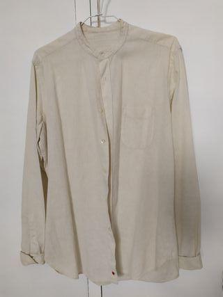 camisa blanco roto