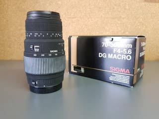 Objetivo Sigma 70-300 f/4-5.6 DG Macro