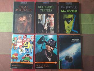 Lote de libros de lectura en inglés