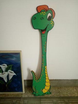 Dinosaurio metro medidor niños
