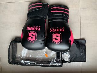 Guantes Shark Boxing boxeo 12oz